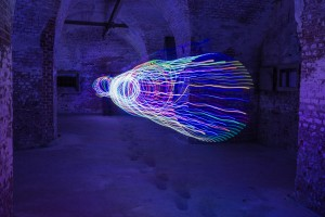 Lightpainting-Workshop Festung Grauer Ort