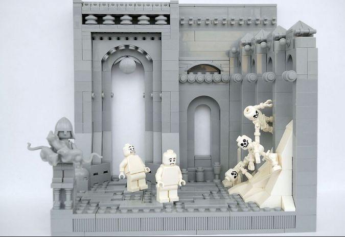 Dantes LIMBO aus Lego