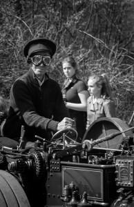 Steampunk - Lokomobil